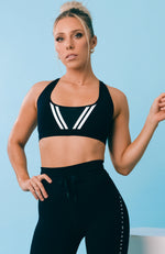 Dominate Sports Bra Black