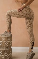 Speckle Leggings Sand