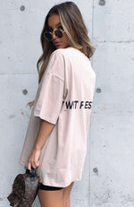 Front Row Tee Sand