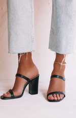 Haze Mules Black