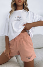 It's Like That Lounge Shorts Dusty Pink