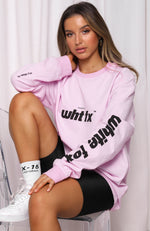 Star Treatment Long Sleeve Tee Pink
