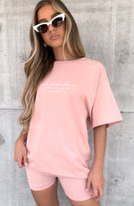 Established Tee Pink