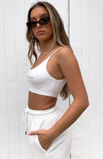 No Sweat Crop White
