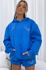 Set The Standard Hoodie Electric Blue