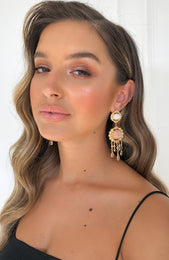 So Charming Earrings Gold