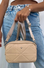 Pronto Bag Beige Nylon