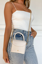 Georgia Mini Bag White