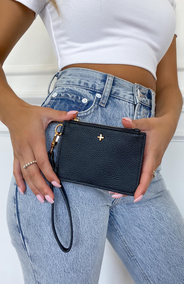 Kenzie Purse Black Pebble
