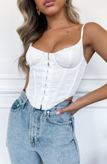 Stay Young Bustier White