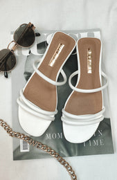 Isla Slides White