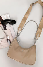 Paloma Bag Beige Nylon