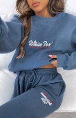 In The Know Sweater Navy