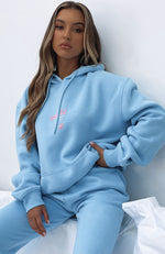 The New Way Hoodie Baby Blue