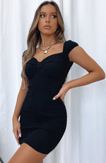 Precious Thing Mini Dress Black
