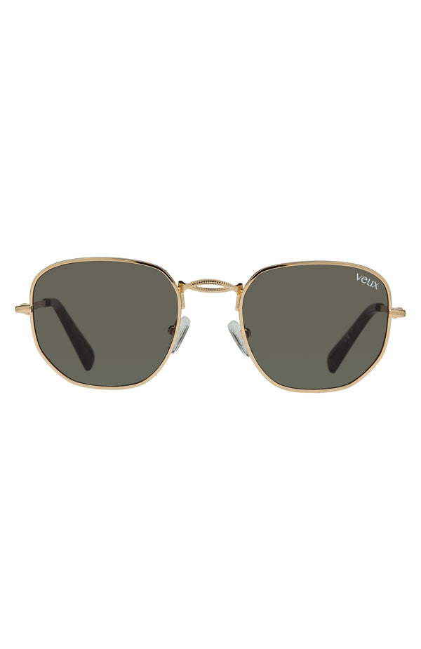Abbey Rd Sunglasses Gold