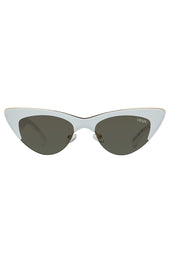 Mayfair Sunglasses White