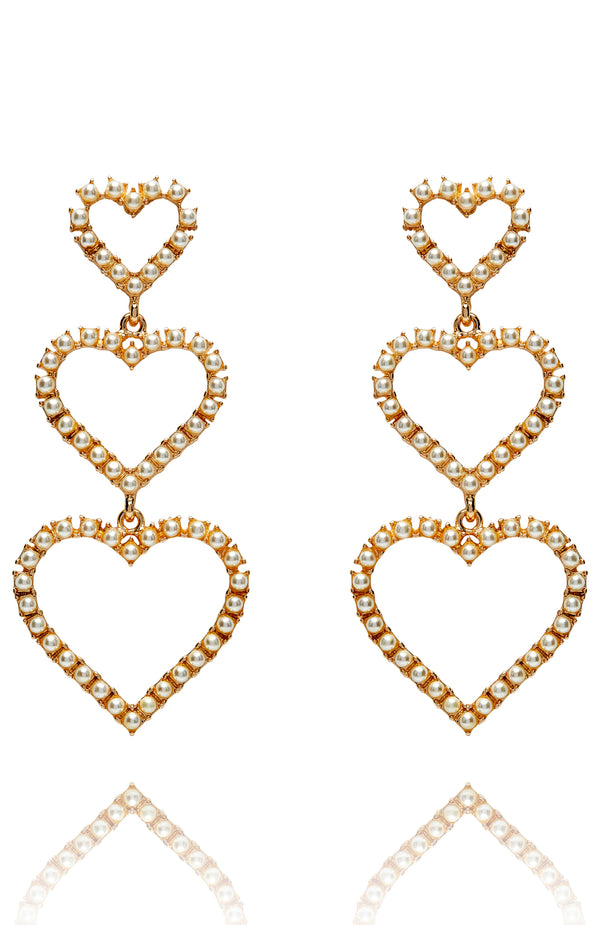 Favourite Things Earrings Gold