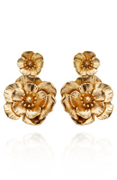 Sweet Romance Earrings Gold