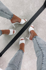 Sampson Mules White