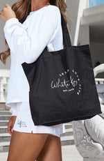 Self Love Club Tote Bag Black