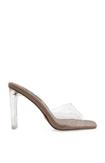 Sutton Heels Blush Lizard