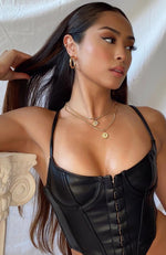 Savage Bustier Black