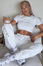Tied Together Sweatpants White