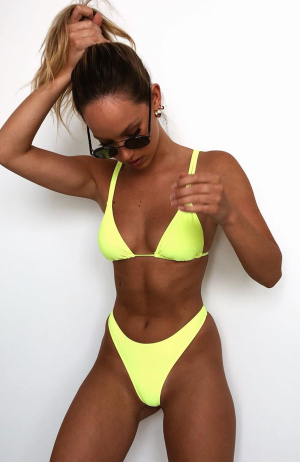 Belmont Bottoms Neon Yellow