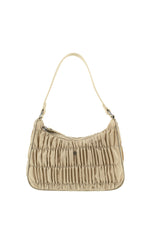 Tyra Shoulder Bag Beige Nylon