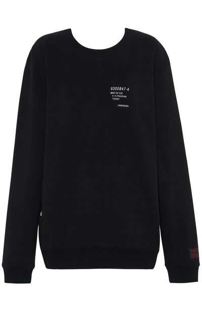 UNKNOWN Oversized Sweater Black