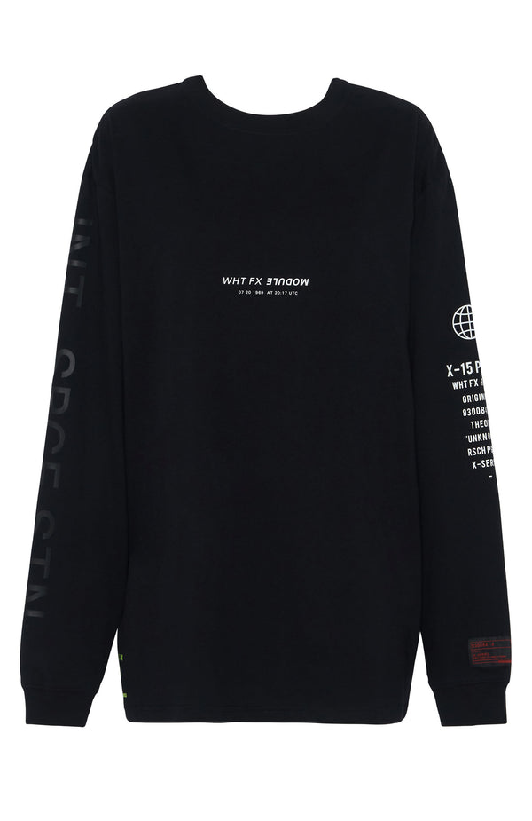 MODULE Long Sleeve Tee Black