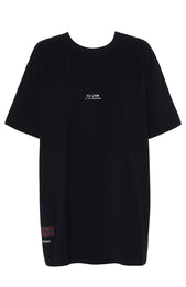 22-FT Oversized Tee Black