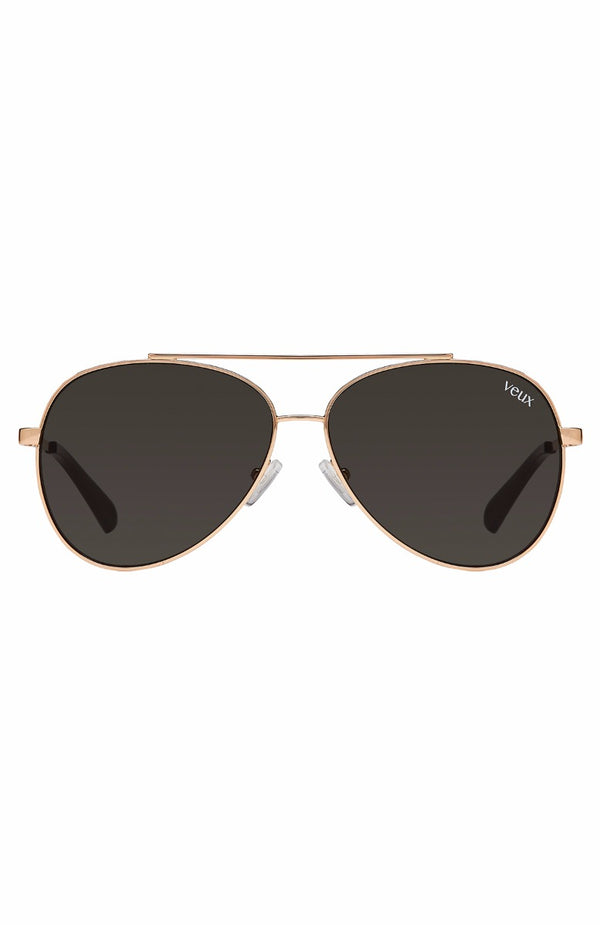 Chateau Sunglasses Black/Gold