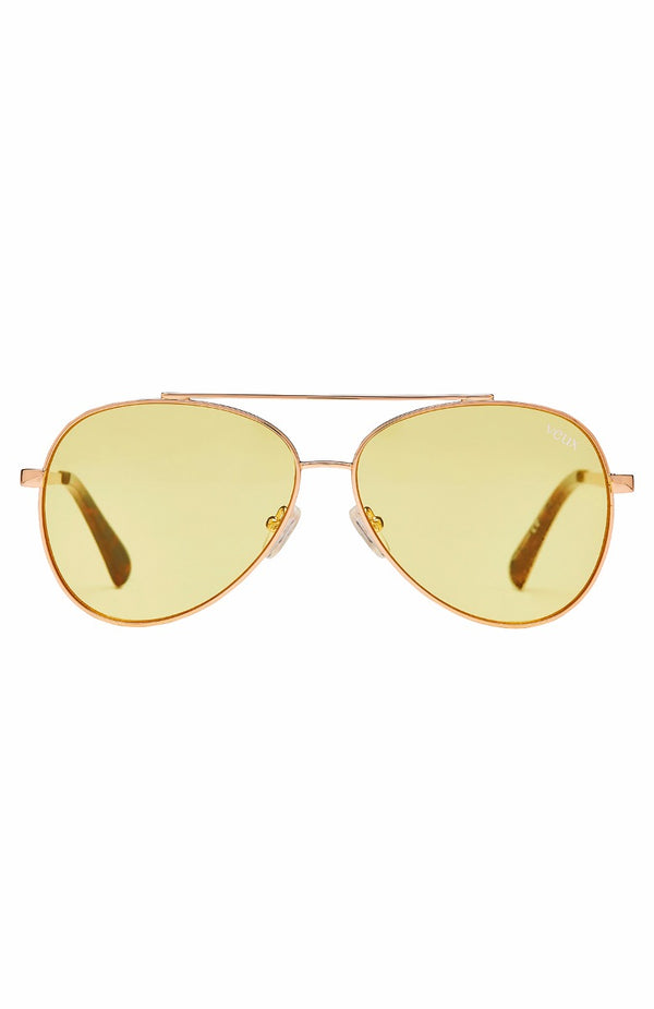 Chateau Sunglasses Yellow/Gold