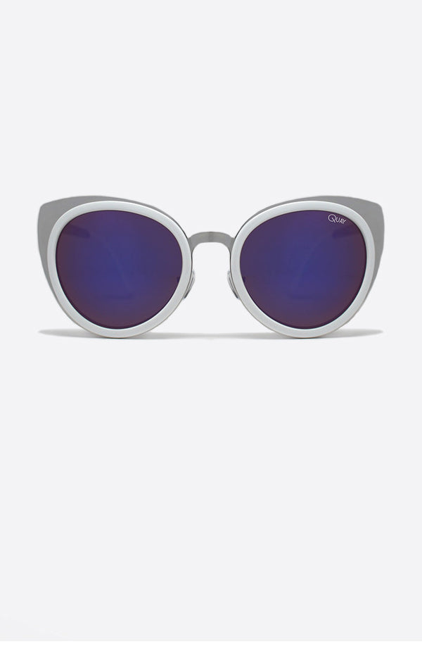 Girly Talk Sunglasses White