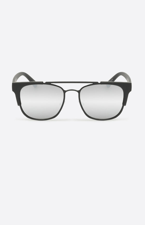 High & Dry Sunglasses Black Silver
