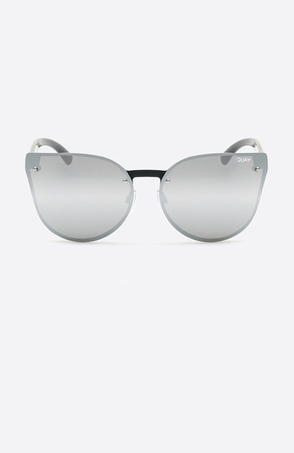 Higher Love Sunglasses Black Silver