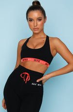 Ignite Sports Bra Black