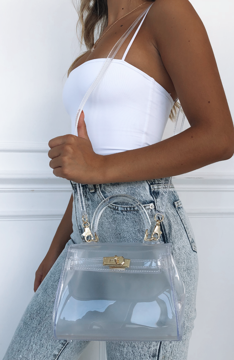Hailee Bag Clear by White Fox