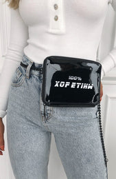 Off the Hook Belt Bag Black