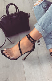 Paris Heels Black