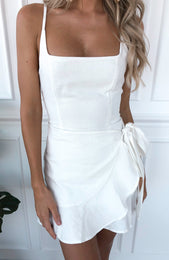 Bet On Me Mini Dress White