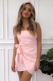 Any Takers Dress Pink