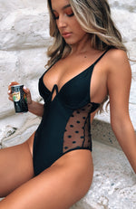 Sadie One Piece Black