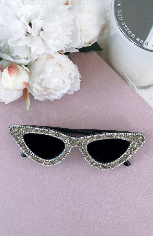 Going Bad Diamante Sunglasses