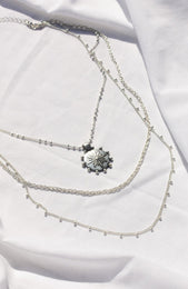 Dawn Necklace Silver