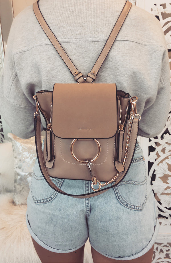 Maverick Mini Backpack Nude