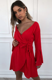 Sweet Dreams Dress Red