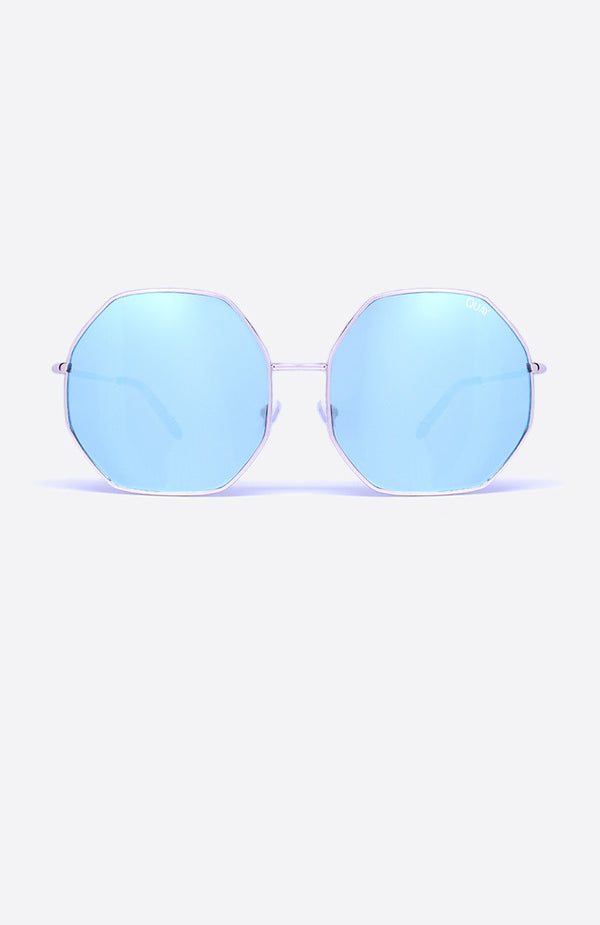 Kiss & Tell Sunglasses Rose Blue